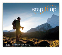 2015 Canadian Step It Up Calendar