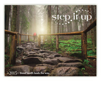 2015 Step It Up Calendar