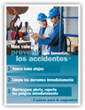 Accident Prevention – Spanish