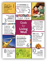 Goals For Living Well