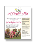 Hope Health Letter Photo®
