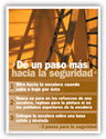 Ladder Safety – Spanish