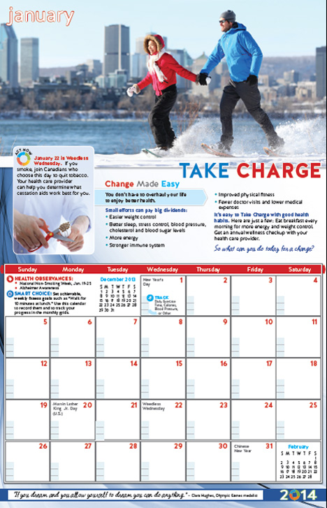 Health Awareness Calendar | New Calendar Template Site