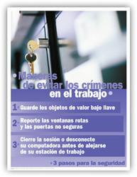 Workplace Crime Stoppers – Spanish