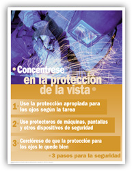 Eye Protection – Spanish