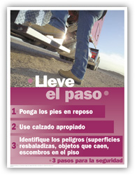 Foot Safety – Spanish