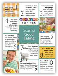 Goals for Good Eating