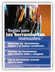 Hand Tool Safety – Spanish