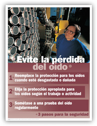 Hearing Safety – Spanish
