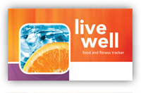 Live Well Food & Fitness Tracker