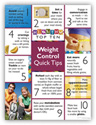 Weight Control Quick Tips